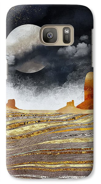 Landscapes Galaxy S7 Case - Metallic Desert by Spacefrog Designs