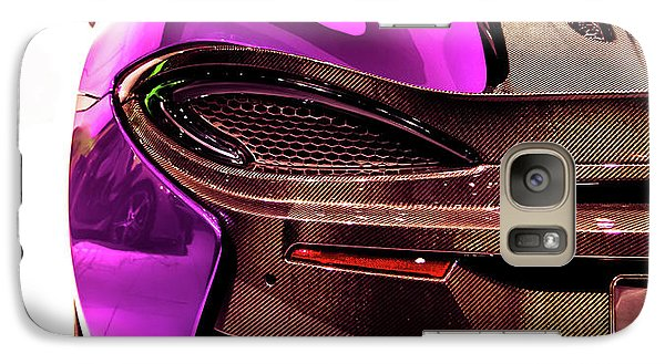 Galaxy Case featuring the photograph Metallic Heartbeat by Karen Wiles