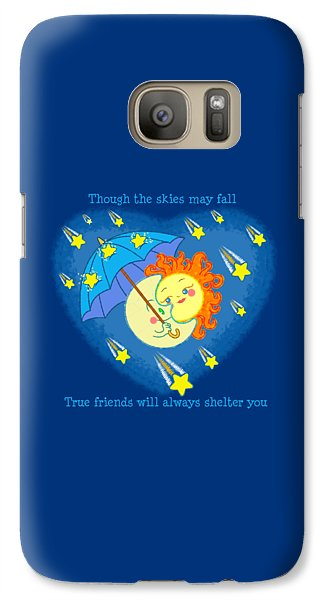 Galaxy Case featuring the digital art Meteor Shower 3 by J L Meadows