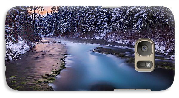 Galaxy Case featuring the photograph Metolius Sunset by Cat Connor