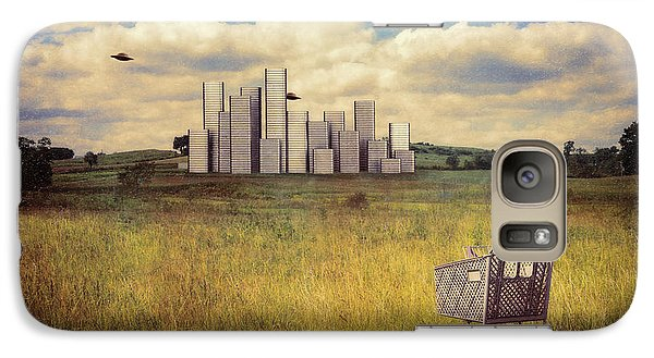 Metropolis Galaxy Case by Tom Mc Nemar