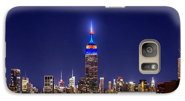 Empire State Building Galaxy S7 Case - Mets Dominance by Az Jackson