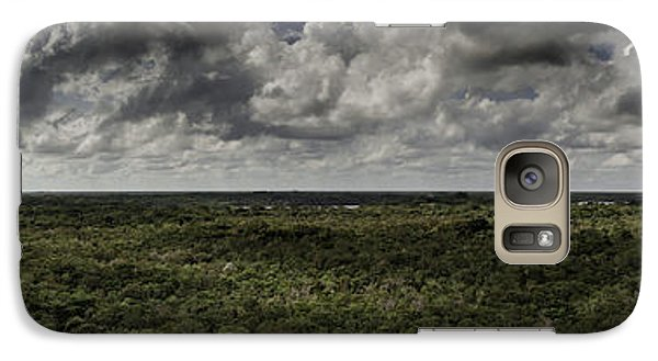 Galaxy Case featuring the photograph Mexican Jungle Panoramic by Jason Moynihan