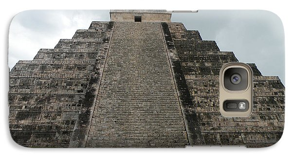 Galaxy Case featuring the photograph Mexico Chichen Itza by Dianne Levy