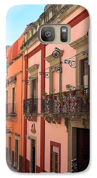 Galaxy Case featuring the photograph Mexico by Mary-Lee Sanders