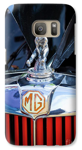 Galaxy Case featuring the photograph Mg Fool by Chris Dutton