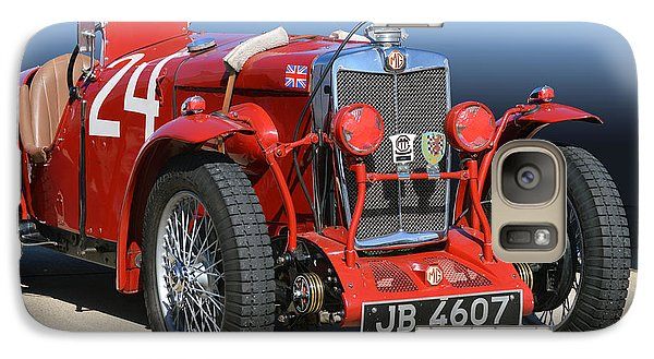 Galaxy Case featuring the photograph Mg Ne Racing Magnette  by Bill Dutting
