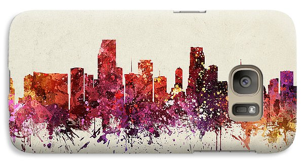 Miami Cityscape 09 Galaxy S7 Case by Aged Pixel
