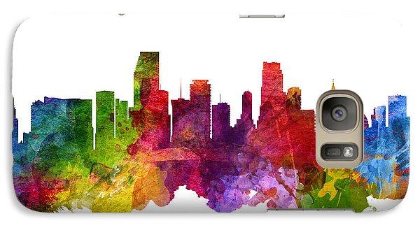 Miami Florida 23 Galaxy Case by Aged Pixel