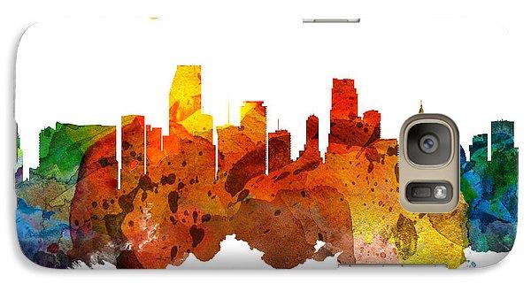 Miami Florida 26 Galaxy Case by Aged Pixel