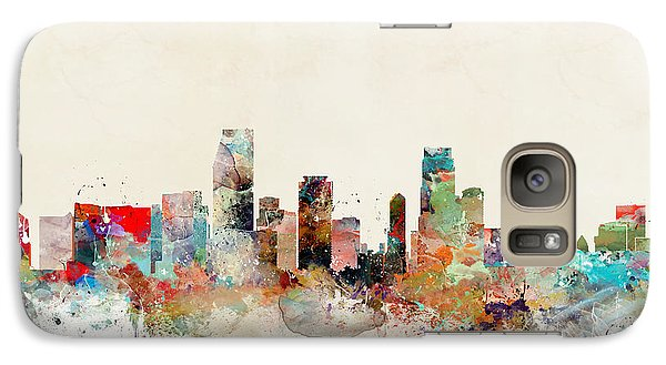 Galaxy Case featuring the painting Miami Florida by Bri B