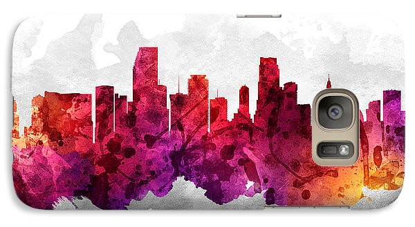 Miami Florida Cityscape 14 Galaxy S7 Case
