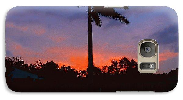 Miami Sunset Galaxy S7 Case