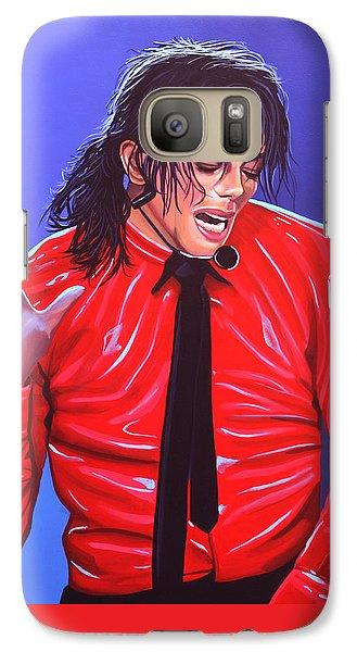 Michael Jackson 2 Galaxy S7 Case
