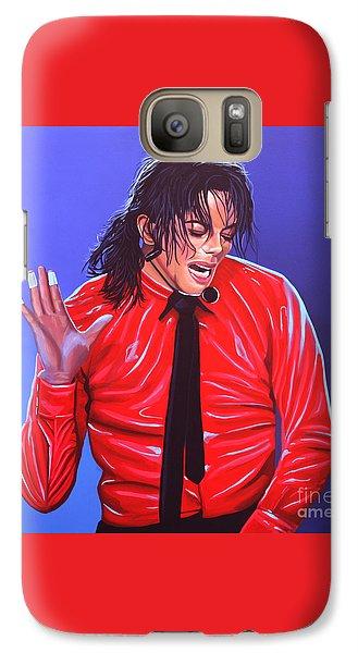 Michael Jackson 2 Galaxy S7 Case by Paul Meijering