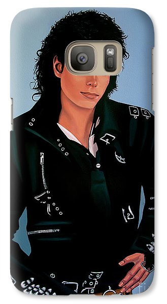 Michael Jackson Bad Galaxy S7 Case by Paul Meijering