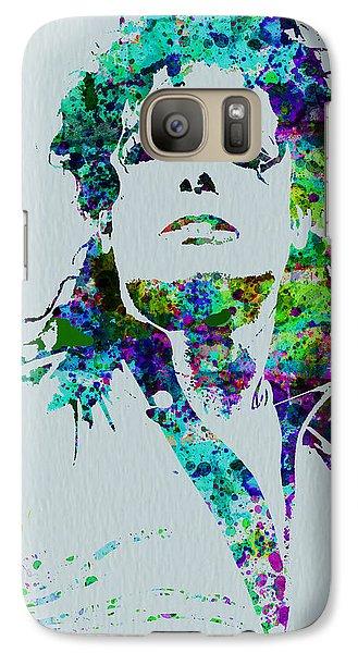 Michael Jackson Galaxy S7 Case by Naxart Studio