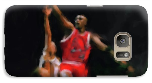 Michael Jordan 548 1 Galaxy Case by Mawra Tahreem