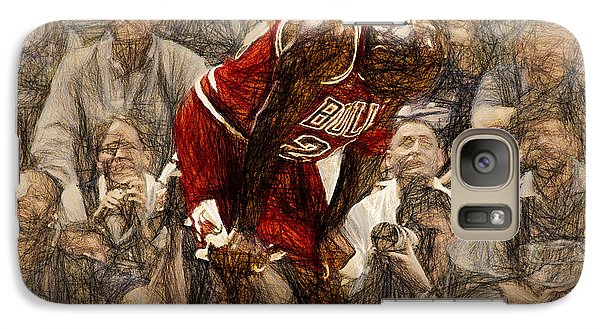 Michael Jordan The Flu Game Galaxy S7 Case