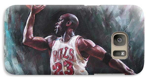 Bull Galaxy S7 Case - Michael Jordan by Ylli Haruni