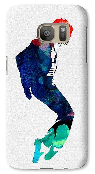 Michael Watercolor Galaxy S7 Case