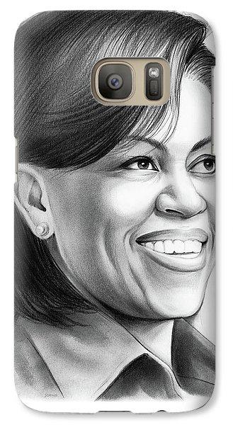 Michelle Obama Galaxy S7 Case by Greg Joens