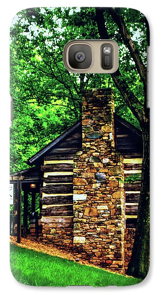 Galaxy Case featuring the photograph Michie Tavern No. 2 by Laura DAddona