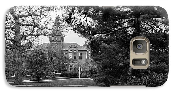 Michigan State Galaxy S7 Case - Michigan State University Campus Black And White  by John McGraw