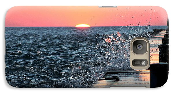 Galaxy Case featuring the photograph Michigan Summer Sunset by Bruce Patrick Smith