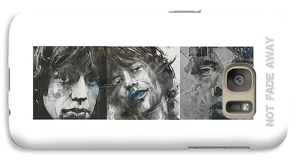 Rolling Stone Magazine Galaxy S7 Case - Mick Jagger Triptych by Paul Lovering