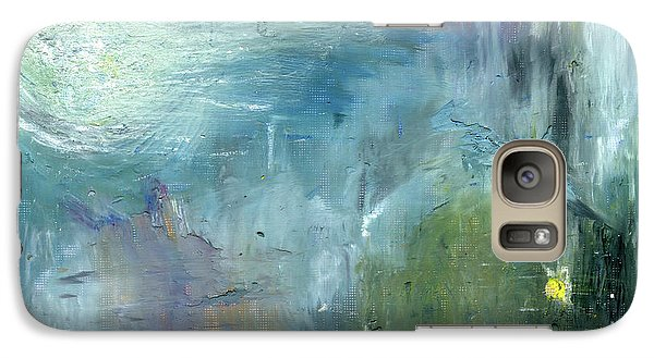 Galaxy Case featuring the painting Mid-day Reflection by Michal Mitak Mahgerefteh