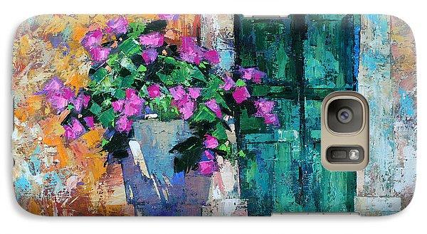 Galaxy Case featuring the painting Mid Summer by Anastasija Kraineva