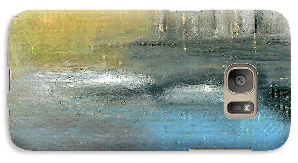 Galaxy Case featuring the painting Mid-summer Glow by Michal Mitak Mahgerefteh