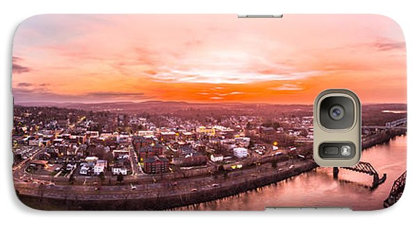 Galaxy Case featuring the photograph Middletown Connecticut Sunset by Petr Hejl