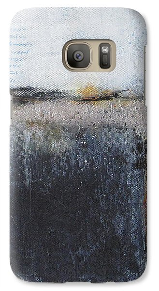 Galaxy Case featuring the painting Midnight Glow by Nicole Nadeau
