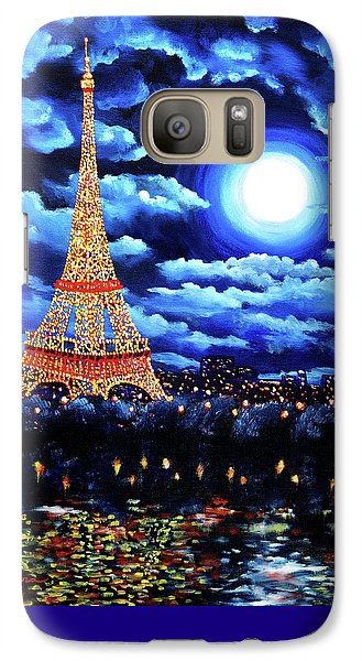 Midnight In Paris Galaxy S7 Case
