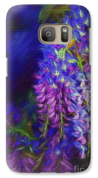 Galaxy Case featuring the photograph Midnight Oil By Kaye Menner by Kaye Menner