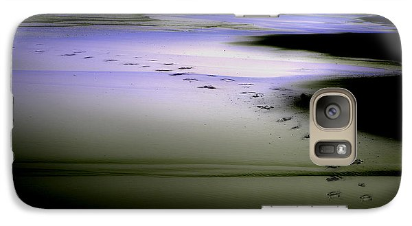 Galaxy Case featuring the photograph Midnight Swim by Gray  Artus