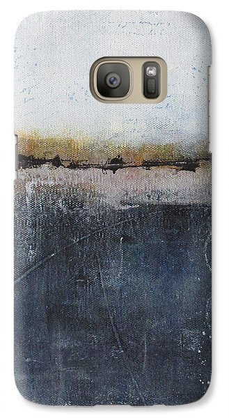 Galaxy Case featuring the painting Midnight Whispers by Nicole Nadeau