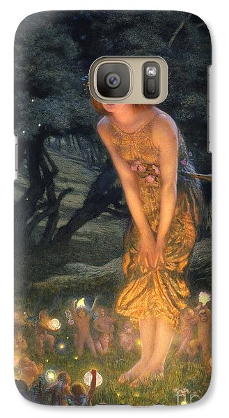 Midsummer Eve Galaxy S7 Case by Edward Robert Hughes