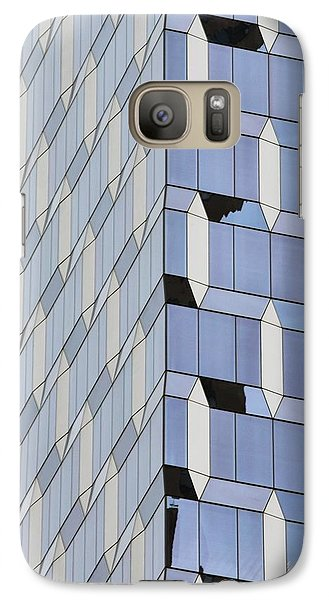 Midtown Architecture  Galaxy S7 Case by Sandy Taylor