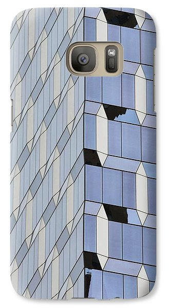 Midtown Architecture  Galaxy Case by Sandy Taylor