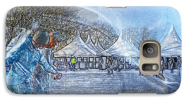 Galaxy Case featuring the photograph Midwinter Blues by LemonArt Photography