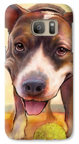 Bull Galaxy S7 Case - Live. Laugh. Love. by Sean ODaniels
