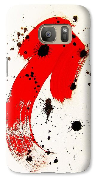 Galaxy Case featuring the painting Mikado Rising by Roberto Prusso