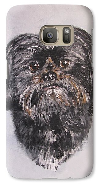 Galaxy Case featuring the painting Mikey by Jack Skinner