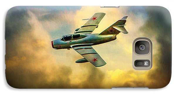 Galaxy Case featuring the photograph Mikoyan-gurevich Mig-15uti by Chris Lord