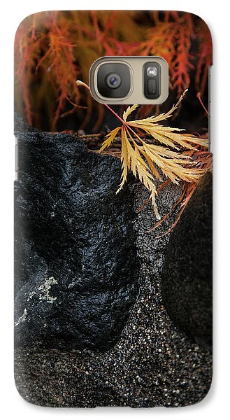Galaxy Case featuring the photograph Miksang 5 Autumn by Theresa Tahara