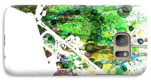 Saxophone Galaxy S7 Case - Miles Davis 2 by Naxart Studio