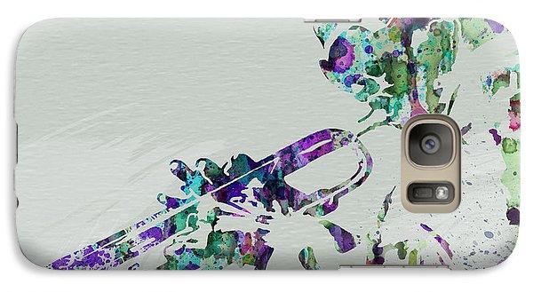 Miles Davis Galaxy S7 Case by Naxart Studio
